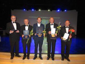 Davorinci - letošnji občinski nagrajenci (Foto: Miran Sirc)